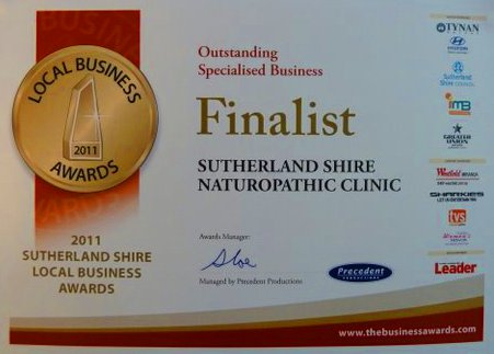 2011 St George Sutherland Shire Local Business Award